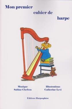 Mon Premier Cahier de Harpe Sabine Chefson Partition laflutedepan