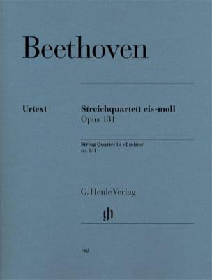Quatuor à cordes en ut dièse mineur op. 131 BEETHOVEN laflutedepan