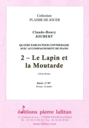 Le Lapin et la Moutarde Claude-Henry Joubert Partition laflutedepan
