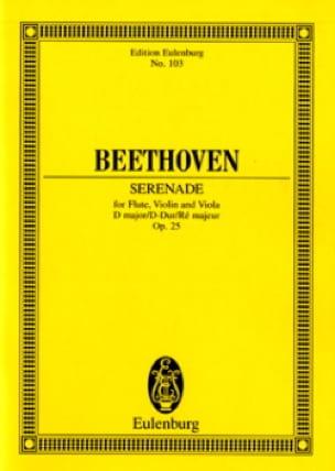 Serenade D-Dur, Op. 25 - BEETHOVEN - Partition - laflutedepan.com