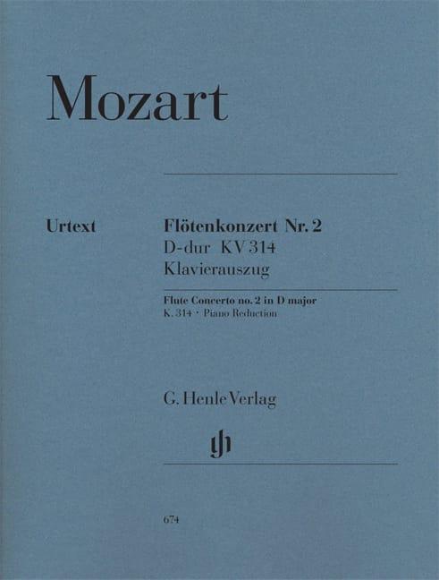 Concerto pour flûte n° 2 en Ré majeur K. 314 - laflutedepan.com