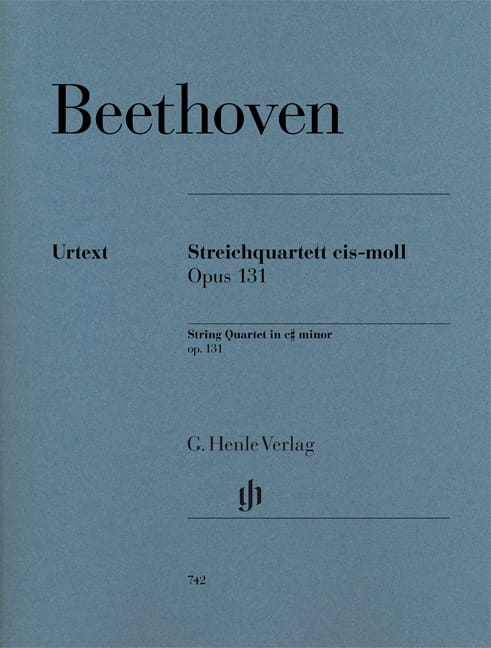 Quatuor à cordes en ut dièse mineur op. 131 - laflutedepan.com
