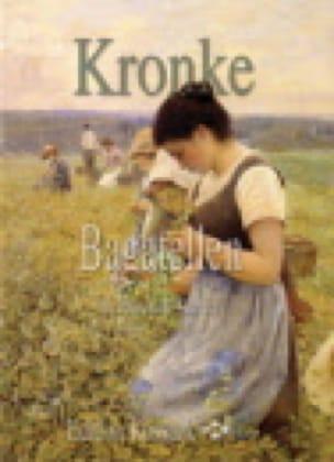 Bagatelles - Emil Kronke - Partition - laflutedepan.com