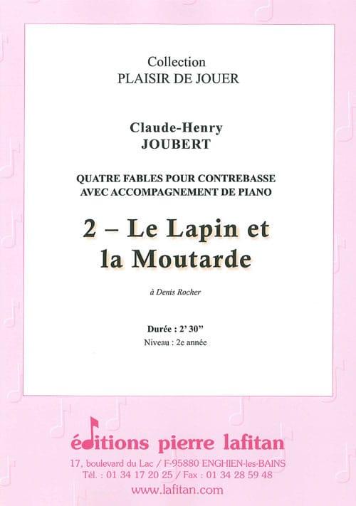 Le Lapin et la Moutarde - Claude-Henry Joubert - laflutedepan.com