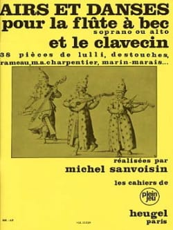 Airs et danses - Flûte à bec sopr. ou alto et clav. laflutedepan