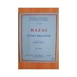 Etudes Brillantes Op.36 - MAZAS - Partition - laflutedepan.com
