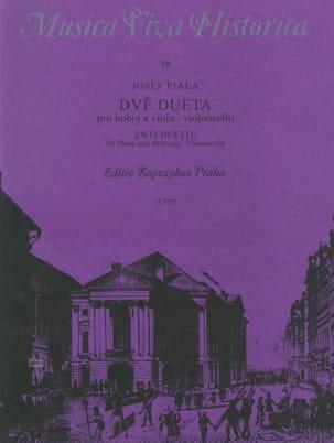 2 Duette - Oboe und Bratsche o. Violoncello Joseph Fiala laflutedepan