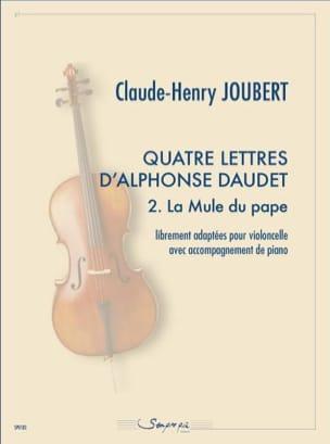Quatre lettres d'Alphonse Daudet 2. La Mule du pape laflutedepan