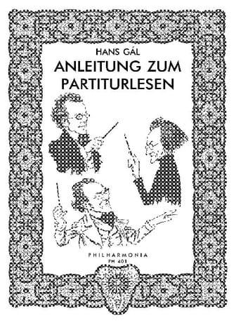 Anleitung zum Partiturlesen - Hans Gal - Partition - laflutedepan.com