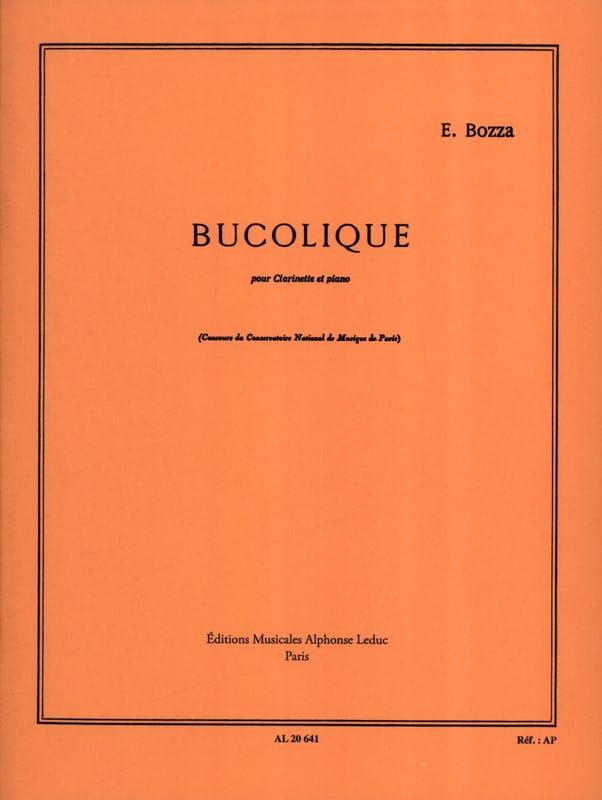 Bucolique - Eugène Bozza - Partition - Clarinette - laflutedepan.com