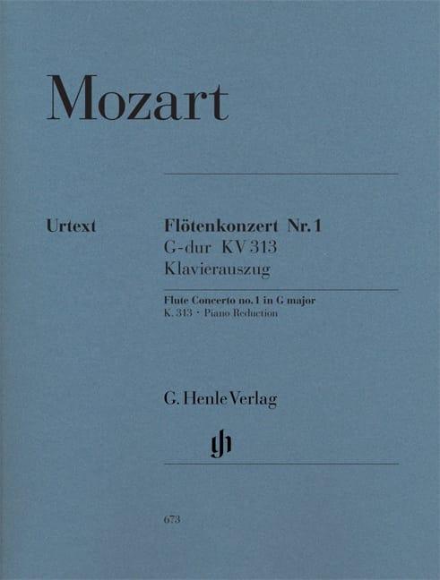 Concerto pour flûte n° 1 en Sol majeur K. 313 - laflutedepan.com