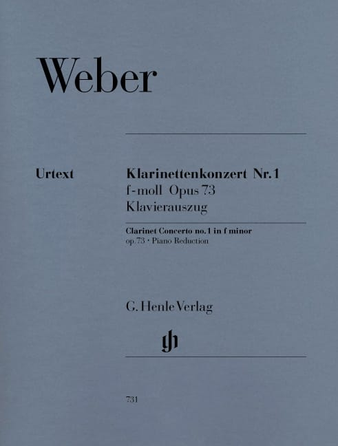 Concerto pour clarinette n° 1 en fa mineur op. 73 - laflutedepan.com