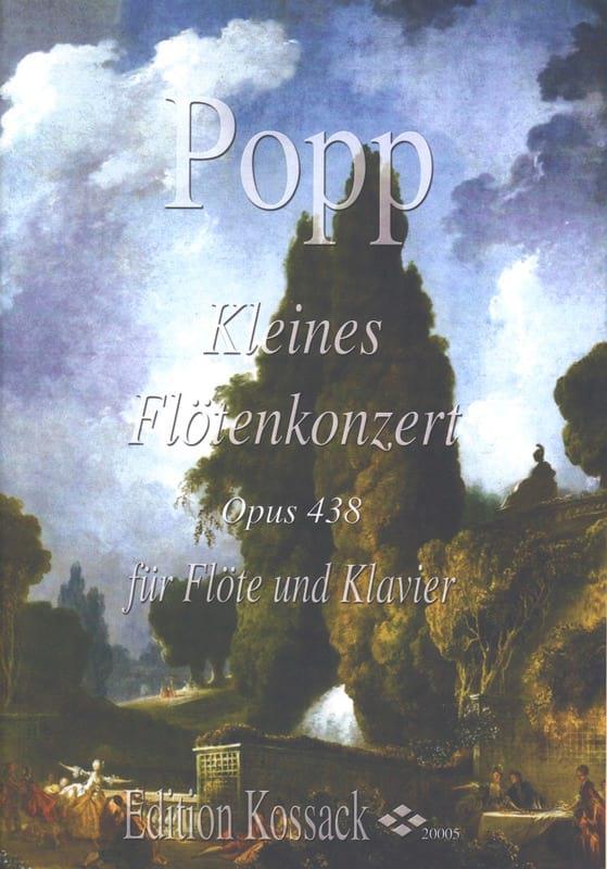 Kleines Flötenkonzert Opus 438 - Wilhelm Popp - laflutedepan.com