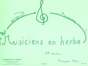 Musiciens en herbe - 2ème année Françoise Herr Partition laflutedepan