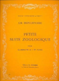 Petite suite zoologique Jean-Marie Depelsenaire Partition laflutedepan