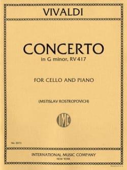Concerto en sol mineur - F. 3 n° 15 - VIVALDI - laflutedepan.com
