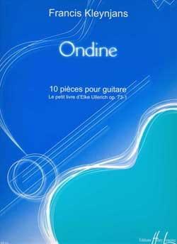 Ondine op. 73-1 - Francis Kleynjans - Partition - laflutedepan.com