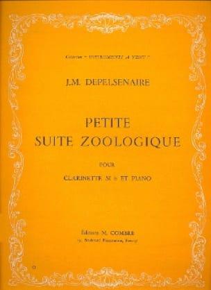 Petite suite zoologique - Jean-Marie Depelsenaire - laflutedepan.com
