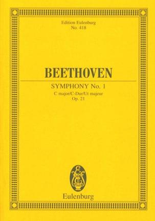 Symphonie Nr. 1 C-Dur BEETHOVEN Partition Petit format - laflutedepan