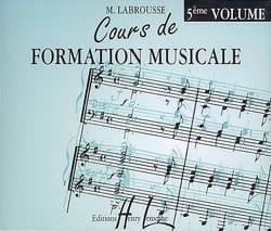 CD - Cours de Formation Musicale Volume 5 laflutedepan