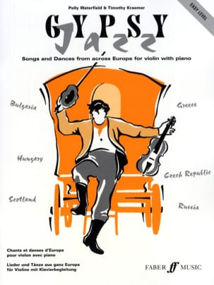 Gypsy Jazz Waterfield Polly / Kraemer Timothy Partition laflutedepan