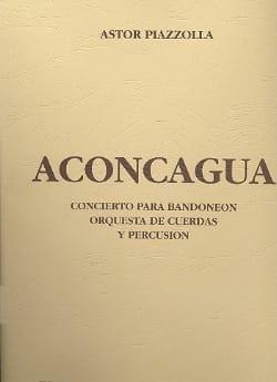 Aconcagua - Partitur Astor Piazzolla Partition laflutedepan
