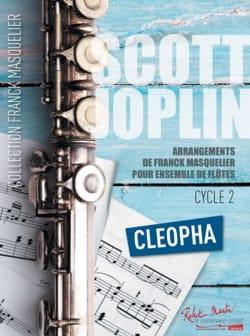 Cléopha - Ensemble de Flûtes + Contrebasse JOPLIN laflutedepan