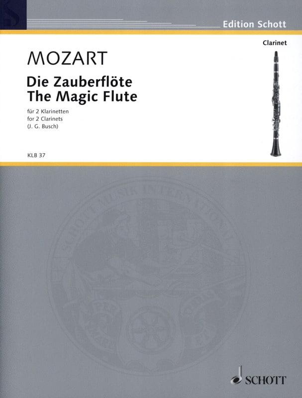 Die Zauberflöte - 2 Klarinetten - laflutedepan.com