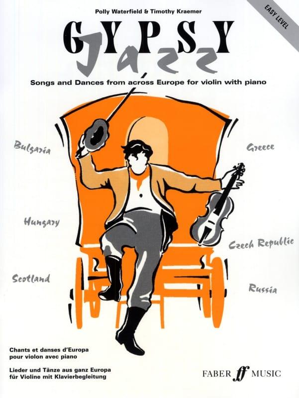 Gypsy Jazz - Waterfield Polly / Kraemer Timothy - laflutedepan.com