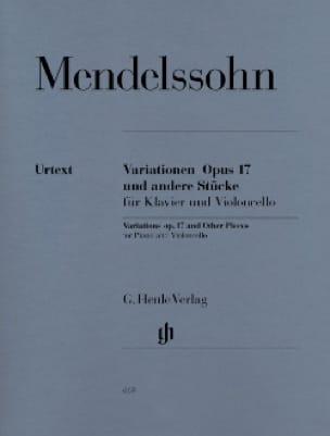 Variations op. 17 et autres morceaux pour piano et violoncelle - laflutedepan.com
