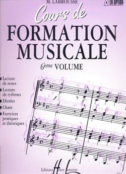 Cours de Formation Musicale - Volume 6 laflutedepan
