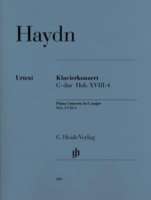Klavierkonzert G-Dur Hob 18 : 4 -Stimmen HAYDN Partition laflutedepan