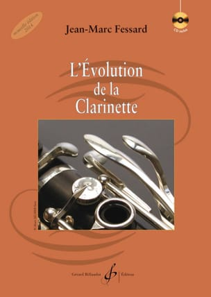 L'Evolution de la Clarinette Jean-Marc FESSARD Livre laflutedepan