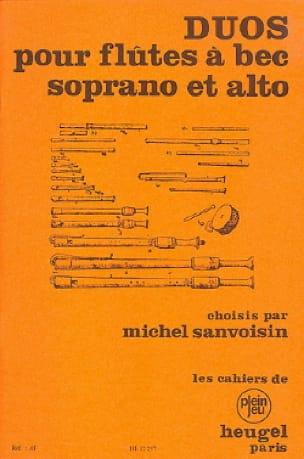 Duos pour Flûtes à Bec Soprano et Alto - laflutedepan.com