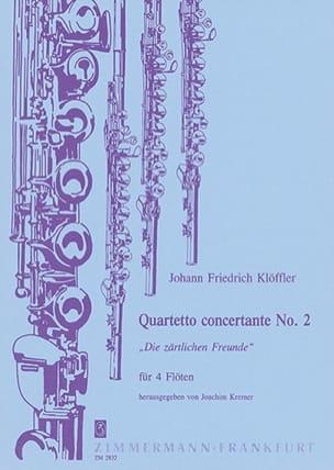 Quartetto concertante n° 2 - 4 Flöten laflutedepan