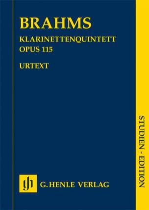 Quintette avec clarinette en si mineur op. 115 BRAHMS laflutedepan