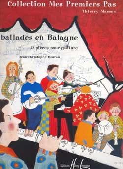 Ballades en Balagne Jean-Christophe Hoarau Partition laflutedepan