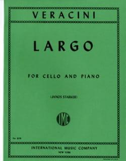 Largo - Cello Francesco Maria Veracini Partition laflutedepan