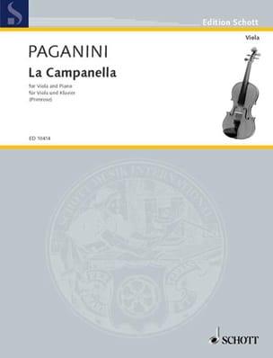 La Campanella, op. 7 PAGANINI Partition Alto - laflutedepan