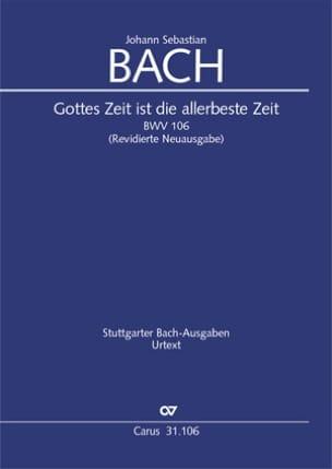 Gottes Zeit ist die allerbeste Zeit BWV 106 - BACH - laflutedepan.com