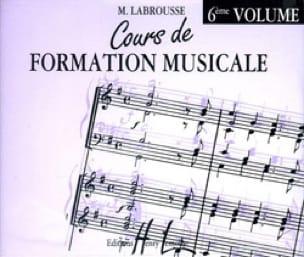 CD - Cours de Formation Musicale Volume 6 - laflutedepan.com