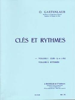 Clés et rythmes - Volume 1 : Clés 5 et 7 clés laflutedepan