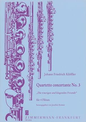 Quartetto concertante n° 3 -4 Flöten laflutedepan