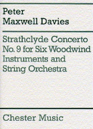 Strathclyde Concerto N° 9 -6 Woodwind instruments piano laflutedepan