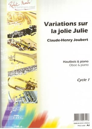 Variations sur la Jolie Julie Claude-Henry Joubert laflutedepan