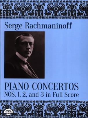 Piano Concertos Nos. 1, 2 and 3 Sergei Rachmaninov laflutedepan
