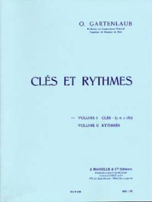 Clés et rythmes - Volume 1 : Clés 5 et 7 clés - laflutedepan.com