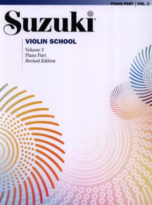 Violin School Volume 2 - Accompagnement Piano SUZUKI laflutedepan