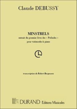 DEBUSSY - Minstrels - Partition - di-arezzo.com