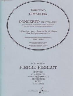 Concerto en Ut Majeur pour Hautbois CIMAROSA Partition laflutedepan